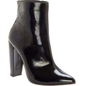 New Jessica Simpson Teddi Pantent Leather Booties